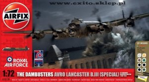 AIRFIX 50138 - 1:72 Avro Lancaster B.III (Special) The Dambusters - Anniversary Edition