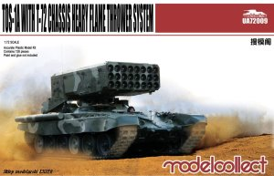 MODELCOLLECT UA72009 - 1:72 TOS-1A Heavy Flame Thrower System w/ T-72 Chassis
