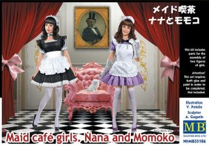 MASTER BOX 35186 - 1:35 Maid cafe girls Nana and Momoko