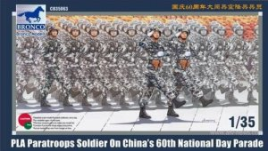 BRONCO CB 35063 - 1:35 PLA Paratroops Soldier on National Day Parade