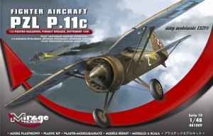 MIRAGE 481009 - 1:48 PZL P-11c 112 Fighter Squadron September 1939