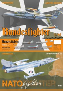 EDUARD 1133 - 1:48 Bundesfighter / NATO fighter - F-104G Limited Edition