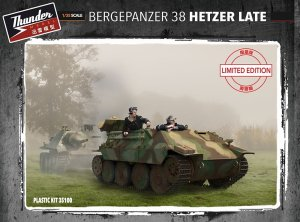 THUNDER MODEL 35100 - 1:35 Bergepanzer 38 Hetzer Late w/ Full interior - Limited Bonus Edition