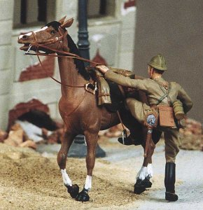 M-MODEL 35001 - 1:35 Polish Cavalry NCO Mounted - 1939