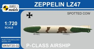 MARK I MKM720-02 - 1:720 Zeppelin LZ47 - Spotted Cow