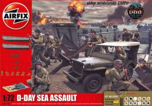 AIRFIX 50156 - 1:72 D-Day Sea Assault - Gift Set