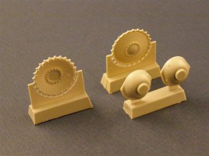 PANZERART 35033 - 1:35 Drive Wheels with transmission for Pz II Tank