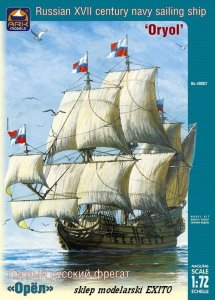 ARK MODELS 40007 - 1:72 Russian XVII century navy sailing ship Oryol