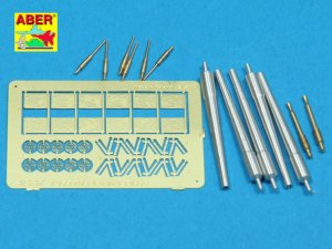 ABER 1:144L-01 - 1:144 Set of barrels for US Fletcher Clas Destroyer