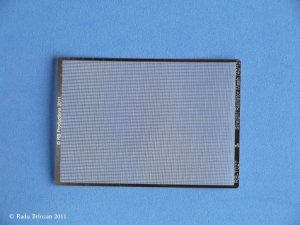 RB PRODUCTIONS T027 - 1:32 Straight Radiator Mesh (40/10)