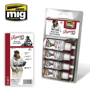 AMMO MIG 7020 - Winter Uniforms - Figures Set