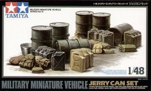 TAMIYA 32510 - 1:48 Jerry Can Set