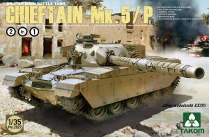 TAKOM 2027 - 1:35 Chieftain Mk.5 / 5P British Main Battle Tank