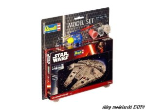 REVELL 63600 - 1:241 Millennium Falcon Model Set