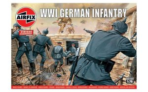 AIRFIX 00726 - 1:76 WWI German Infantry