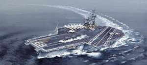 ITALERI 5522 - 1:720 USS Kitty Hawk CV-63