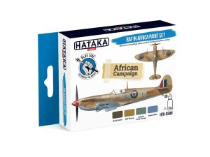 HATAKA BS08 - RAF in Africa paint set