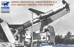 BRONCO CB 35050 - 1:35 German Rheinmetall Rheintochter R-2 Anti-Aircraft Missiles and Launcher