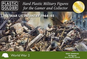 PLASTIC SOLDIER 15006 - 15 mm American Infantry 1944-45