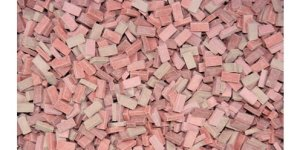 JUWEELA 28031 - 1:87 Bricks brick-red mix 3000 pcs