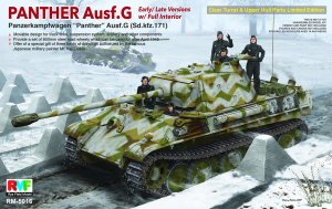RYE FIELD MODEL 5016 - 1:35 Panther Ausf.G Early/Late w/ Full Interior