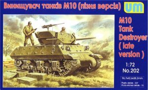 UNIMODELS 202 - 1:72 M10 Tank Destroyer (late version)
