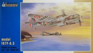 "SPECIAL HOBBY 48114 - 1:48 Martin 167F ""Glenn over French 1940/45"""