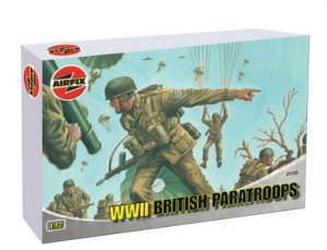 AIRFIX 01723 - 1:72 II WW British Paratroopers