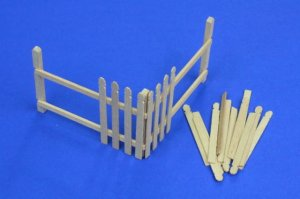RB MODEL 35D04 - 1:35 Wooden fence corner
