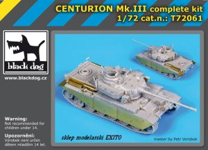BLACK DOG T72061 - 1:72 Centurion Mk.III complete kit