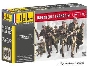 HELLER 49602 - 1:72 French Infantry