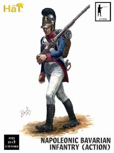HAT 9315 - 1:32 Napoleonic Bavarian Infantry Action Poses