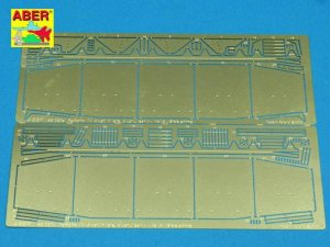 ABER 48020 - 1:48 Pzkpfw.IV Ausf.H, Ausf .J vol.4 - Side skirts