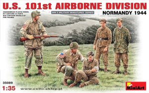 MINIART 35089 - 1:35 U.S. 101st Airborne Division - Normandy 1944