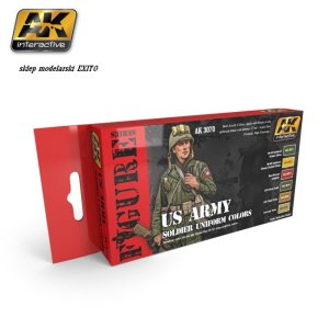 AK INTERACTIVE 3070 - US Army Soldier Uniform Colors