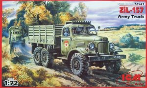 ICM 72541 - 1:72 ZiL-157, Army Truck