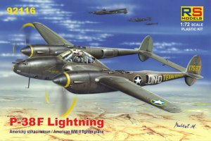 RS MODELS 92116 - 1:72 P-38 F Lightning