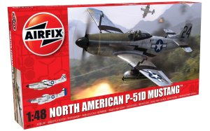 AIRFIX 05131 - 1:48 North American P-51D Mustang