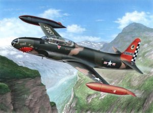 SPECIAL HOBBY 32050 - 1:32 T-33A T-Bird Over Europe