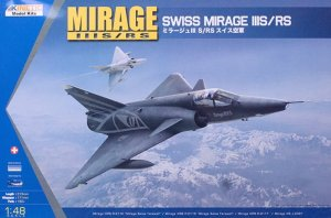 KINETIC 48058 - 1:48 Mirage IIIS/RS Swiss