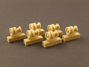 PANZERART 35034 - 1:35 Burn out return Rollers for KV I / II Tanks