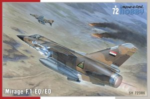 SPECIAL HOBBY 72386 - 1:72 Mirage F.1 EQ/ ED