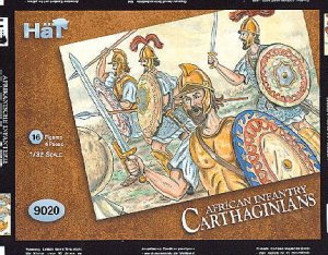 HAT 9020 - 1:32 Hannibals Carthaginians - African Heavy Infantry