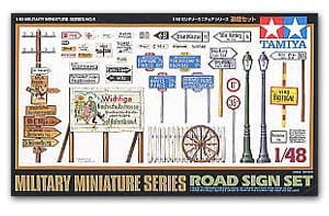 TAMIYA 32509 - 1:48 Road Sign Set