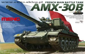 MENG MODEL TS003 - 1:35 French AMX-30B Main Battle Tank