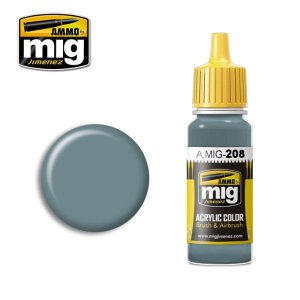 AMMO MIG 208 - Fs 36320 Dark Compass Ghost Gray - farba akrylowa 17ml