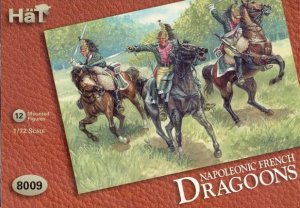 HAT 8009 - 1:72 Napoleonic French Dragoons