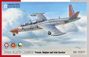 SPECIAL HOBBY 72371 - 1:72 Fouga CM.170 Magister - French, Belgian and Irish Service