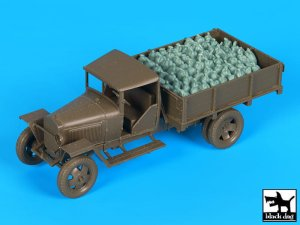 BLACK DOG T48067 - 1:48 Russian 1.5 ton cargo truck accessories set