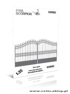 STEEL SCORPION G35002 - 1:35 Żelazna brama - Iron Gate